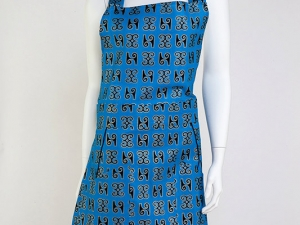 Ladies African Wax Apron